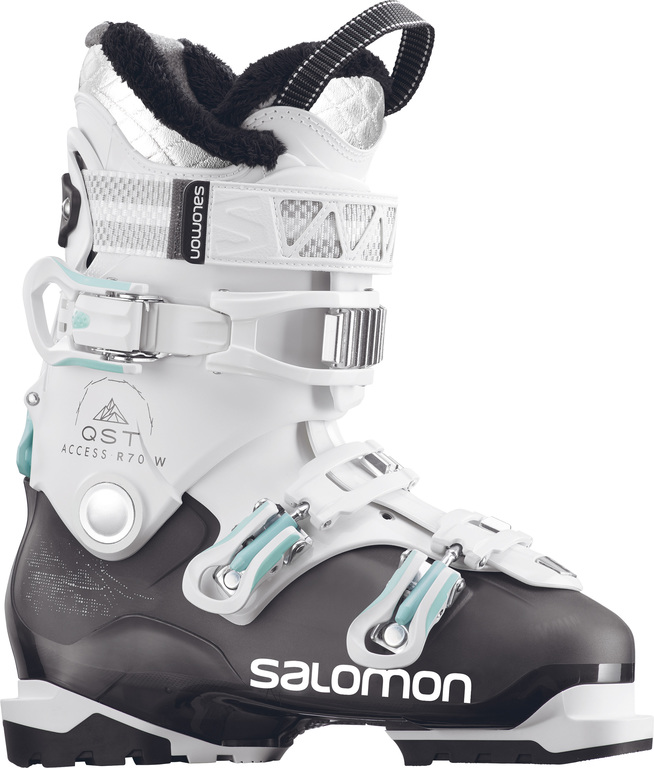 Ботинки горнолыжные Salomon 17-18 QST Access R70 W Anthracite Translu/White, 203