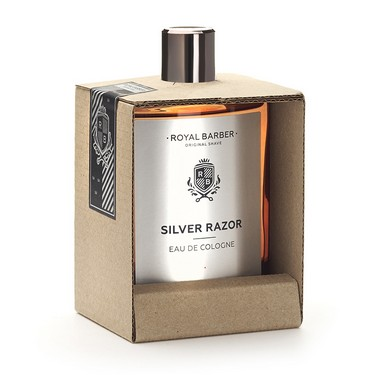 ROYAL BARBER Silver Razor Eau De Cologne