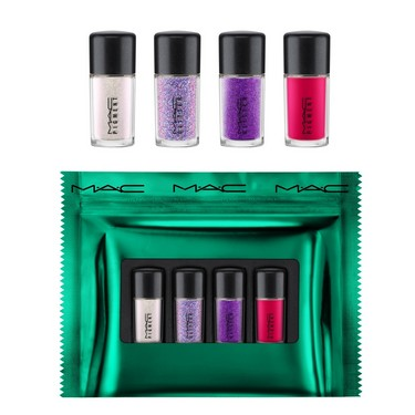 MAC Набор для глаз Shiny Pretty Things Party Favours Mini Glitter & Pigments: Pink