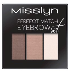 MISSLYN Набор для бровей Perfect match eyebrow set