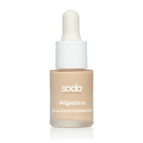 SODA LA-LA-LIQUID FOUNDATION #liquidlove ТОНАЛЬНАЯ ОСНОВА,156