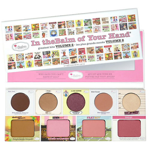 THE BALM Палетка для макияжа лица In theBalm of Your Hand,220
