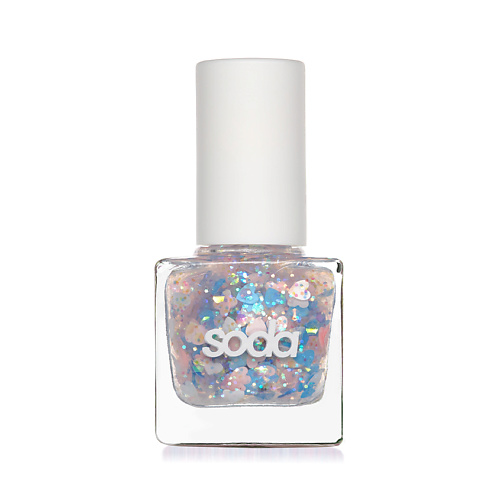 SODA GLITZY NAILS #allthatglitters ЛАК ДЛЯ НОГТЕЙ,2167