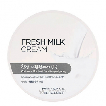 Крем молочный / Daegwallyeong Fresh Milk Cream 300 мл