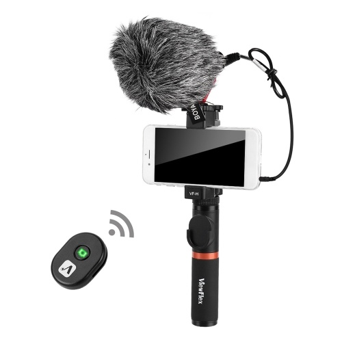 Smartphone Video Rig Hand Grip with BT Remote...