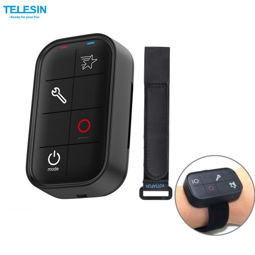 TELESIN Smart Wireless Wi-Fi Remote Control W...