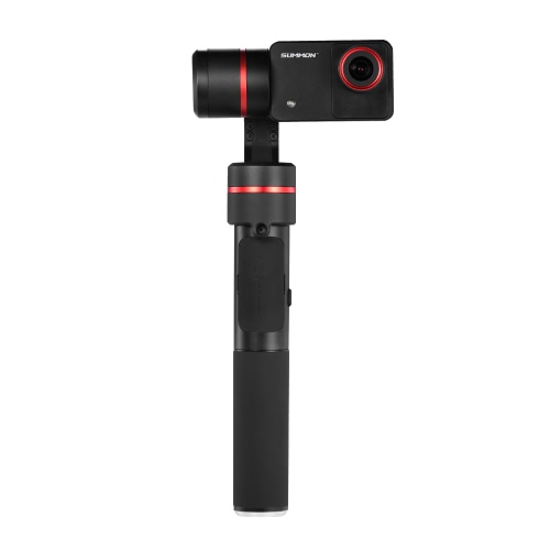 Feiyu SUMMON+ Stabilized Handheld Action Camera Integrated with 3-Axis Brushless Gimbal 4K 25FPS 16 Mega Pixels 2.0″ HD Display with LED Fill Light Anti-shake One Tap for Panoramic Shooting