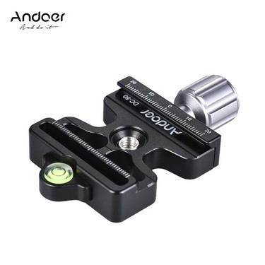 Andoer DC-50 Professional Universal Aluminum Alloy Quick Release Plate