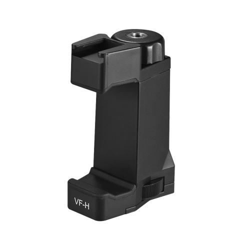 ViewFlex VF-H1 Phone Tripod Mount Adapter Holder Clamp Clip with Hot Shoe Mount for iPhone X 8 7 6s Plus for Samsung Galaxy S8+ S8 Note 3 Huawei
