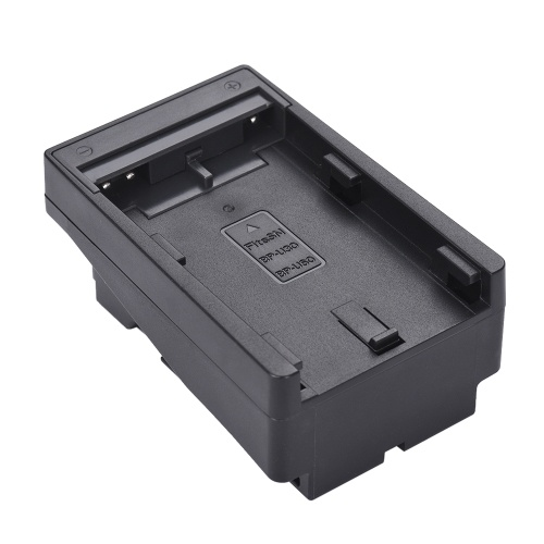 BP-U30/U60 to NP-F Series Battery Converter Adapter Plate Replace F950/F750/F550 for LED Video Light Panel/ Monitor/ DSLR