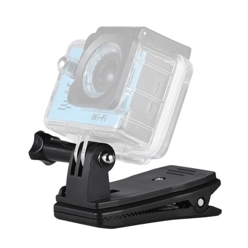 Backpack Strap Cap Clip Mount 360 Degree Rota...