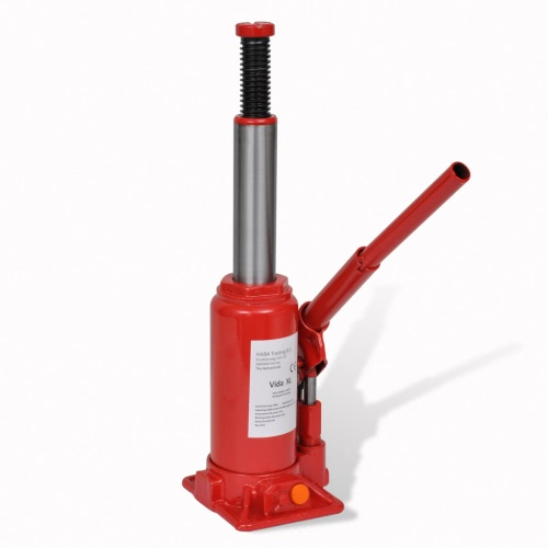 210257 Hydraulic Bottle Jack 5 Ton Red Car Lift Automotive