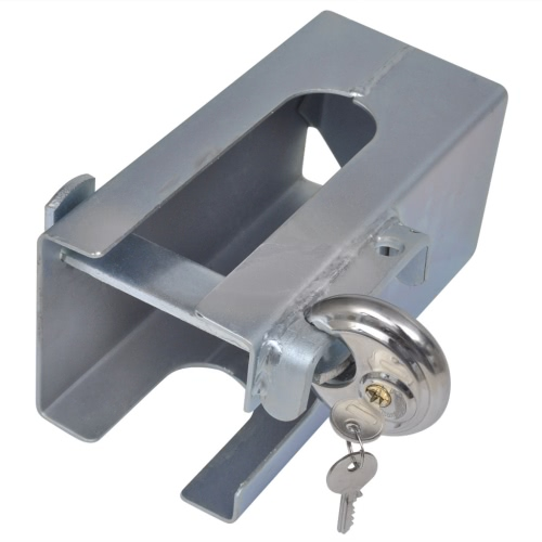 Anti-theft Trailer Coupling Hitch Lock with Disk Lock 110 x 110 mm