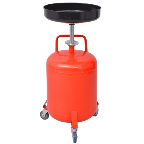 Waste Oil Drain 49.5 L Red Steel