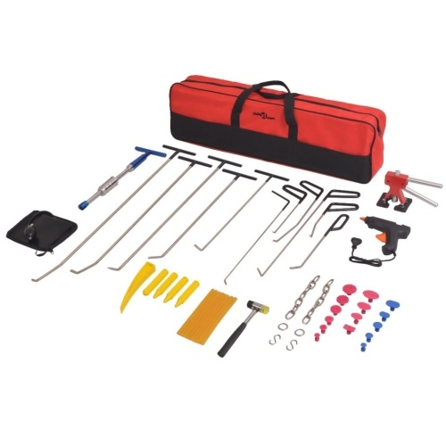 50-part paint repair kit stainless steel