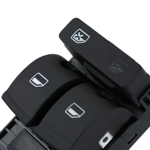 5 Button Car Modification Electronic Window Master Switch for Audi A4 B6 B7 02-05