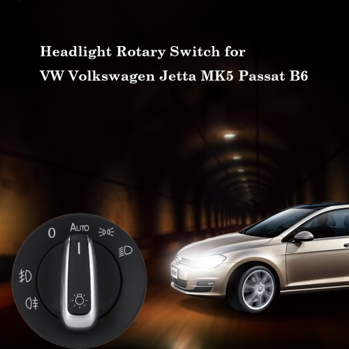 Car Headlight Switch for VW Volkswagen Jetta MK5 Passat B6