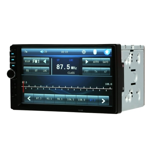 7 inch 2 Din Car BT Stereo Radio MP5 Player With Rear View Camera