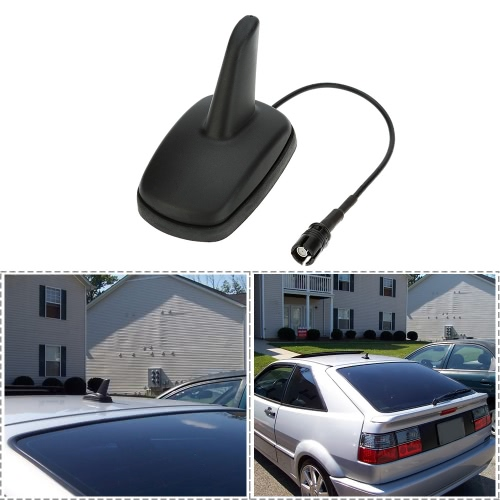 Shark Fin Car Roof AM FM Radio Antenna Sport Style Aerial for VW Audi Seat Skoda