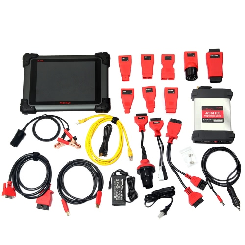 Autel MaxiSys Pro Car Diagnostic Scan Tool WiFi Full System Code Scanner 9.7inch 1024 * 768 LED Screen with Rear Camera