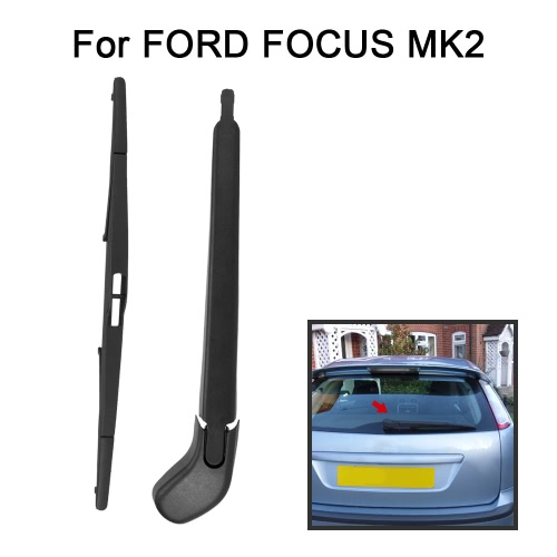 Car Rear Window Windshield Wiper Arm & Blade Complete Replacement Set for FORD FOCUS MK2
