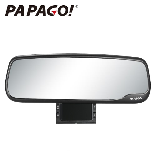 PAPAGO M20 Car DVR Novatek 96655 1080P 2.7 Screen 135 Degree Angle rearview mirror Video Recorder