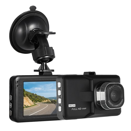 KKmoon 3″ Car DVR 1080P HD  Dash Cam Camera Camcorder
