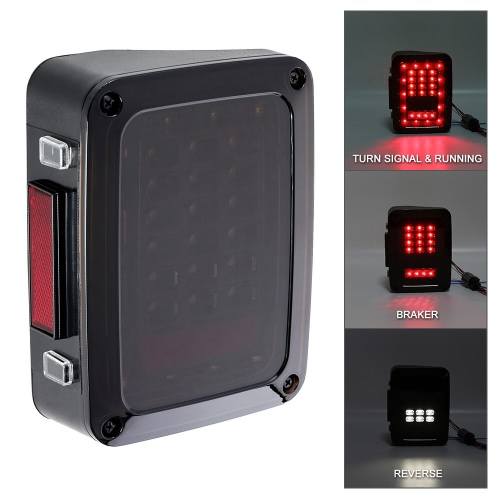 Pair of Smoked LED Rear Tail Lights