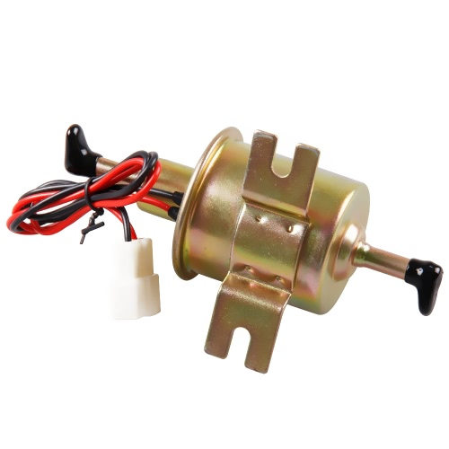 Universal Metal Solid Gasoline Petrol 12V Inline Vehicle Electric Fuel Pump HEP-02A Low Pressure  Automobile Cars for Nissan Mazda Toyota