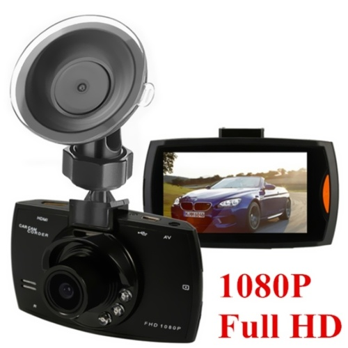 2.4 Inch Dash Camera Full HD Car Video Audio Recorder 120 Degree Angle View With 16GB TF Card Memory Card