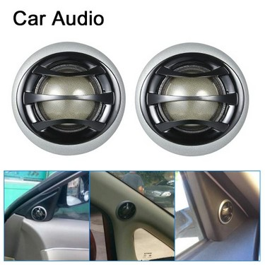 2″150W Micro Dome Car Audio Tweeters Speakers with Built-in crossover  a pair