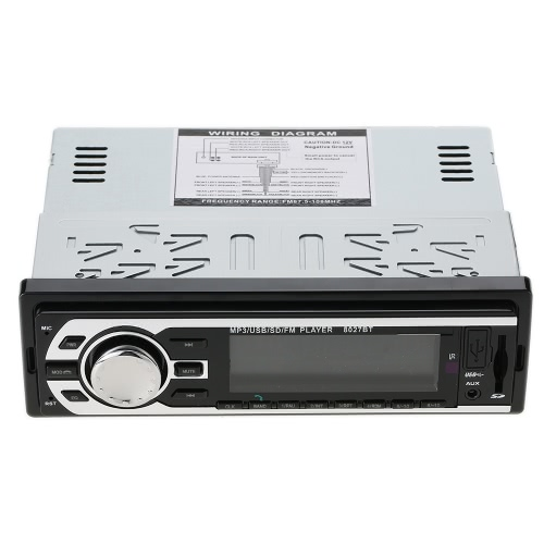 JSD-8027BT Multifunction Stereo BT Vehicle MP...
