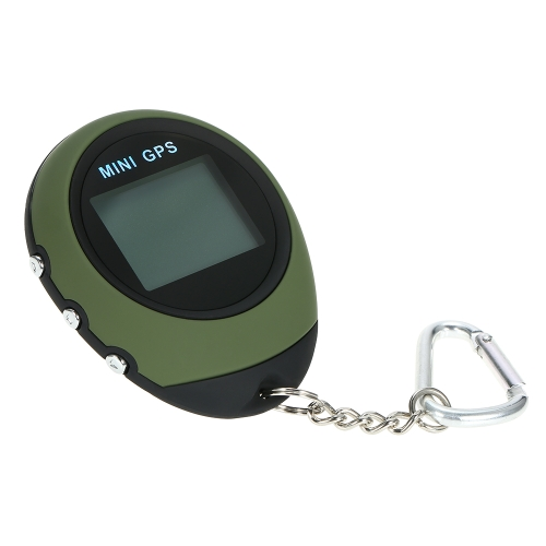 Mini GPS Tracker Portable Keychain Locator