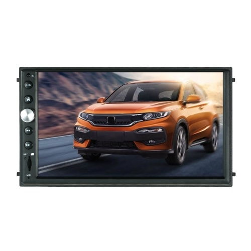 7″ Double Din HD Car Play Audio Video Touchscreen Player  GPS navigation with Siri Artificial Intelligence Voice Function