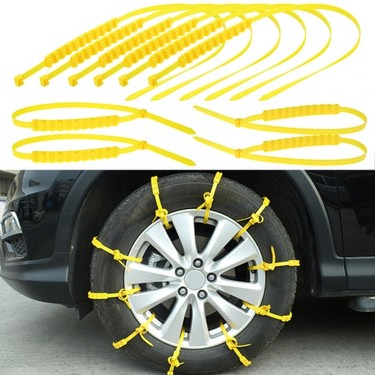 10pcs Tire chains Winter Tyres wheels Snow Chains For Cars/Suv Car-Styling Anti-Skid Autocross Outdoor 2018 NEW