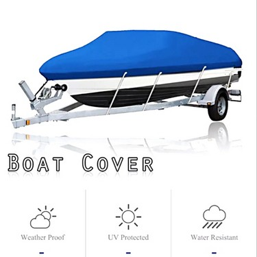 Boat Cover 17-19FT Waterproof Silver Reflective