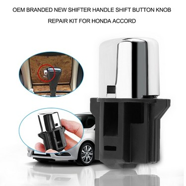 OEM BRANDED NEW SHIFTER HANDLE SHIFT BUTTON KNOB REPAIR KIT FOR HONDA ACCORD
