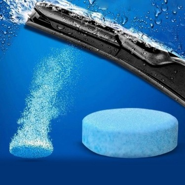 New Car Solid Wiper Fine Auto Window Cleaning Windshield Glass Cleaner