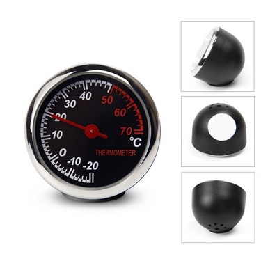 Mini Car Digital Thermometer Decoration High Precision Automotive electronic