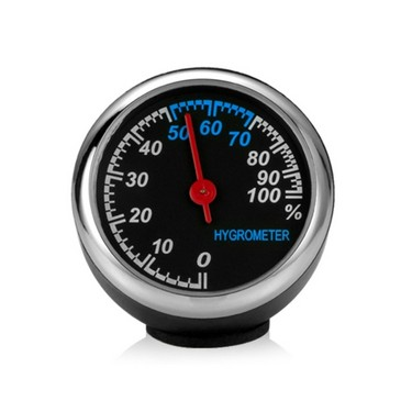 Mini Car Digital Hygrometer Decoration High Precision Automotive electronic