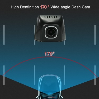 Car DVR Camera Full HD 1080P Video Recorder Starlight Night Vision Novatek 96658 IMX 323 WiFi APP Control for iOS Android Devices