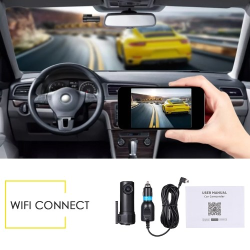 S600 New HD WIFI Hidden Multi-function Vehicle Recorder Car DVR