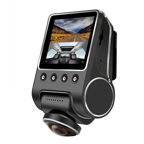 KKMOON 1080P 2.5 Inch 360 Degree Panoramic WiFi Car Fisheye Camera DVR Hidden Camcorder with Night Vision No Back Camera