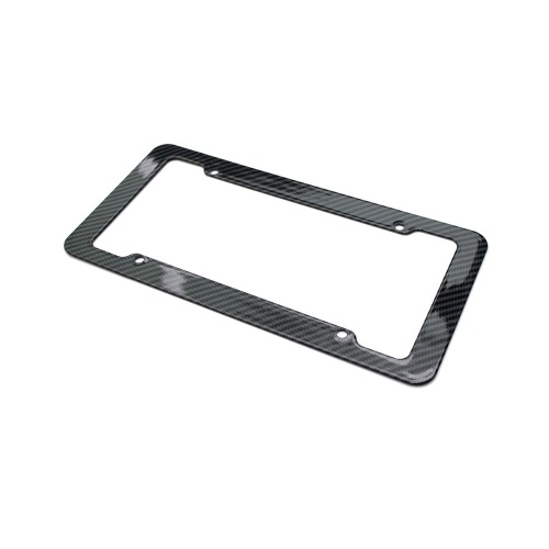 License Plate Frame Tag Cover Protection Rack