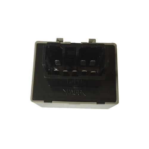 8-Pin 81980-50030 066500-4650 Electronic LED Flasher Relay Fix For Lexus Toyota Scion LED Turn Signal Light Bulbs Grey Color