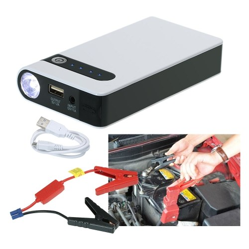 High Power 12000mAh Car Jump Starter Power Bank 12V Emergency Starting Device Portable Car Charger for Car Battery Booster