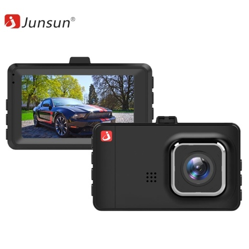 Junsun 3 inch TFT LCD Screen Display Car DVR with 16GB Memory Card