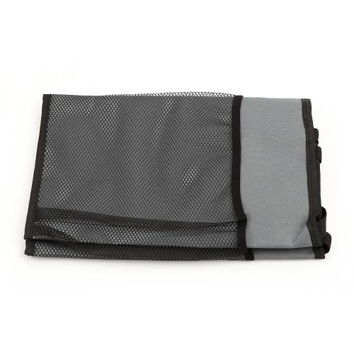 Auto Organizer 35.24*14.17in Foldable Cargo Net Storage for More Space Car Organizer with Adjustable Straps,Black