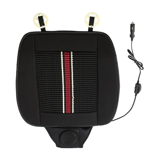 12V Summer Car Electric Seat Cooling Cushion Breathable Cushion
