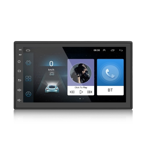 6.93 Inch Android 7.0 Vehicle Navigator Multimedia Player with MirrorLink Dual Control BT4.0
